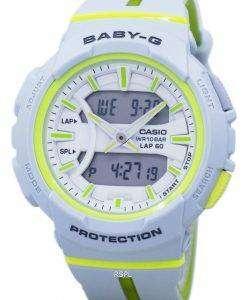 カシオベビー-G の耐衝撃性のデュアル タイム アナログ デジタル BGA 240 L 7A レディース腕時計
