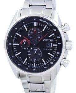 市民エコ ・ ドライブ クロノグラフ タキメーター パワー リザーブ CA0590 58E メンズ腕時計