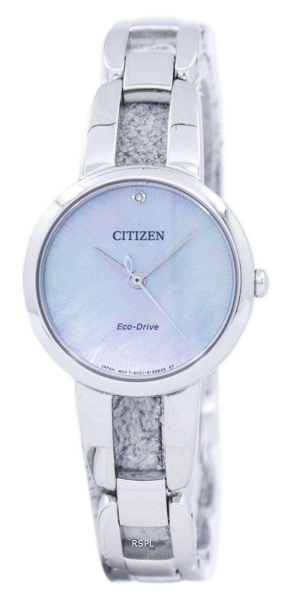市民エコ ・ ドライブ EM0430 85N レディース腕時計