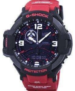 カシオ G ショック GravityMaster 世界時間アナログ デジタル 200 M GA-1000-4B メンズ腕時計