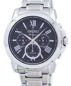 プレミア クロノグラフ ソーラー SSC597 SSC597P1 SSC597P メンズ腕時計