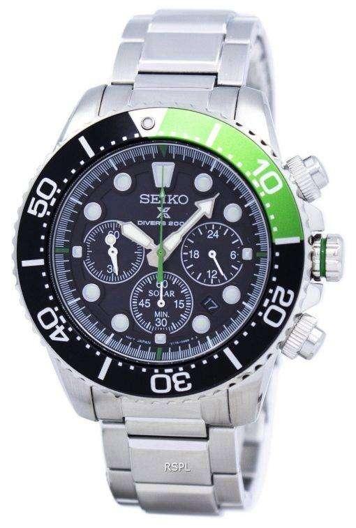 セイコー プロスペックス ダイバー ソーラー クロノグラフ 200 M SSC615 SSC615P1 SSC615P メンズ腕時計