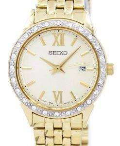 セイコー クオーツ ダイヤモンド アクセント SUR688 SUR688P1 SUR688P レディース腕時計