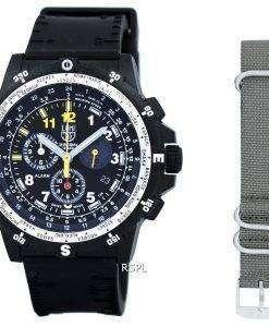 ルミノックス偵察チーム リーダー クロノグラフ 8840 シリーズ水晶 XL.8841.KM.SET メンズ腕時計