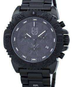 ルミノックス ネイビー シール カラーマーク クロノグラフ 3180 シリーズ水晶 XS.3182.BO メンズ腕時計
