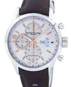 レイモンドウェイル ジュネーブ フリーランサー クロノグラフ自動 7730 STC 65025 メンズ腕時計腕時計