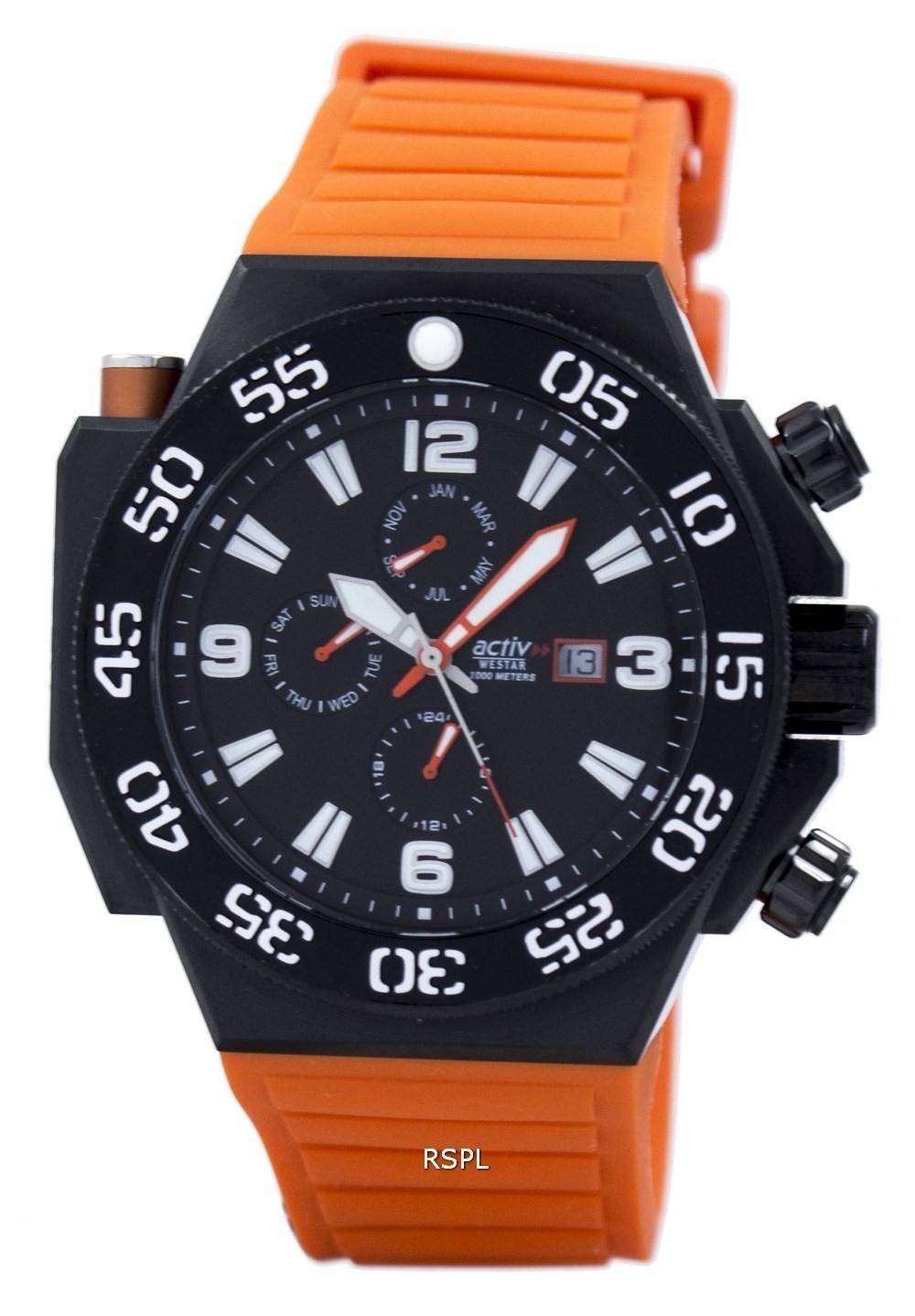 ウェスター クオーツ 1000 M 90075BBN883 メンズ腕時計