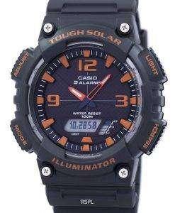 カシオ照明厳しい太陽光目覚ましアナログ デジタル AQ S810W 8AV メンズ腕時計