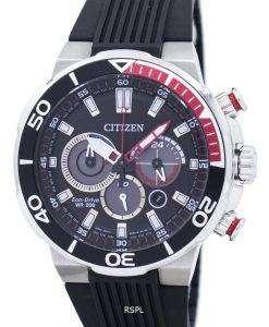 市民エコ ・ ドライブ クロノグラフ 200 M CA4250 03E メンズ腕時計