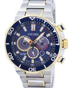 市民エコ ・ ドライブ クロノグラフ アナログ 200 M CA4254-53 L メンズ腕時計