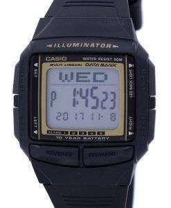カシオ照明多言語バンク デジタル DB 36 9AV メンズ腕時計