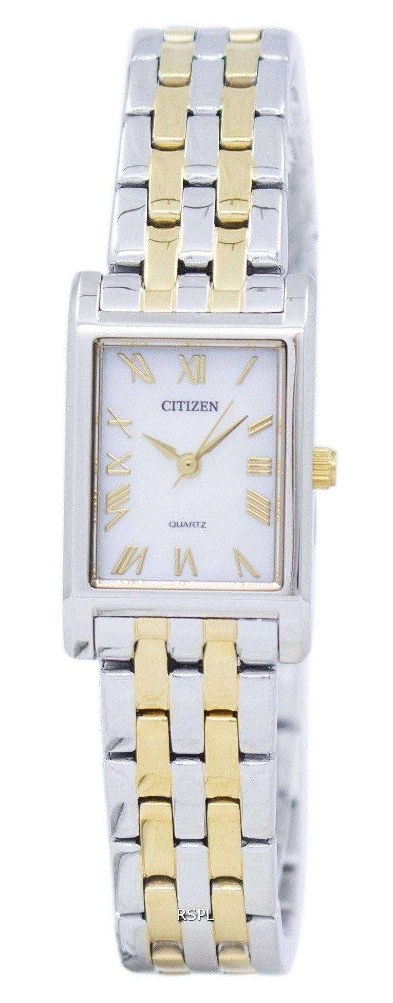 シチズンクォーツ アナログ EJ6124 53D レディース腕時計