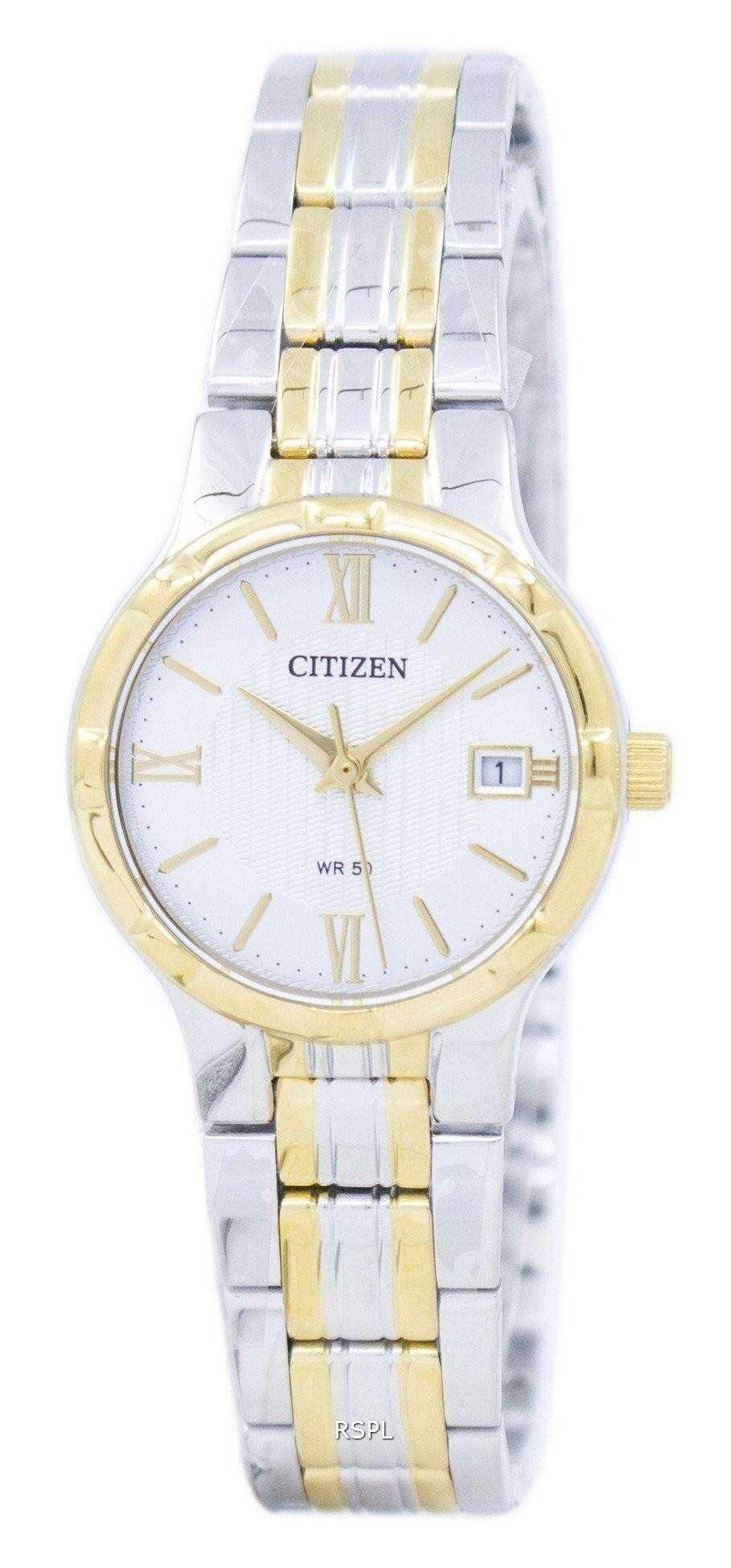 シチズンクォーツ アナログ EU6024 59A レディース腕時計