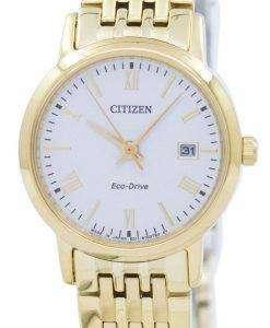 市民エコドライブ アナログ EW1582 54 a レディース腕時計