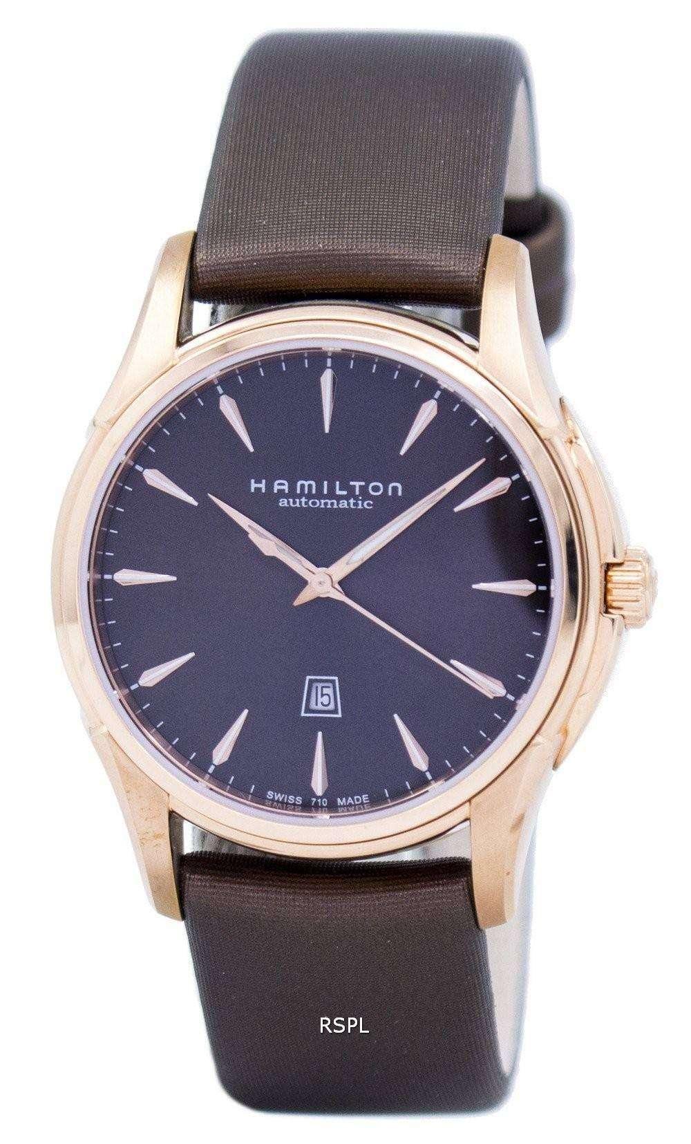 ハミルトン ジャズ マスター ビューマ チック自動 H32335971 レディース腕時計