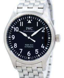 IWC のパイロットのマーク XVIII 自動 IW327011 メンズ腕時計