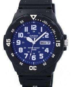 カシオ石英アナログ MRW 200 H 2B2V メンズ腕時計
