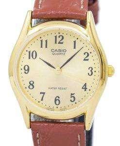 カシオ石英 MTP 1094Q 9B メンズ腕時計