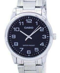 カシオ石英アナログ MTP V001D 1B メンズ腕時計