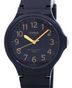 カシオ アナログ クオーツ MW-240-1B2V メンズ腕時計