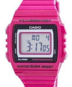 カシオ照明クロノグラフ アラーム デジタル W 215 H 4AV メンズ腕時計