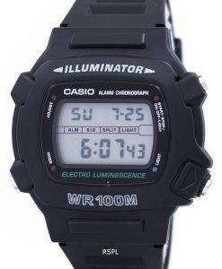 カシオ照明電気発光クロノグラフ アラーム W-740-1 v メンズ腕時計