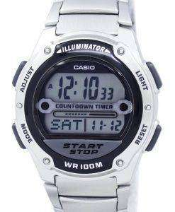 照明器具のカウント ダウン タイマー デジタル W 756 D 1AV カシオメンズ腕時計