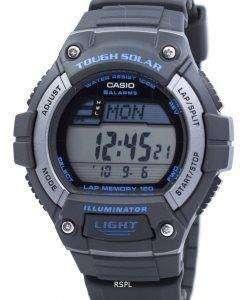 カシオ照明厳しい太陽ラップ メモリ アラーム デジタル W S220 8AV メンズ腕時計