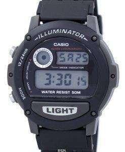 カシオ スポーツ照明アラーム クロノグラフ W87H-1 v のデジタル メンズ腕時計