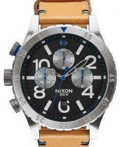 ニクソン 48 20 クロノクォーツ A363-1602-00 メンズ腕時計