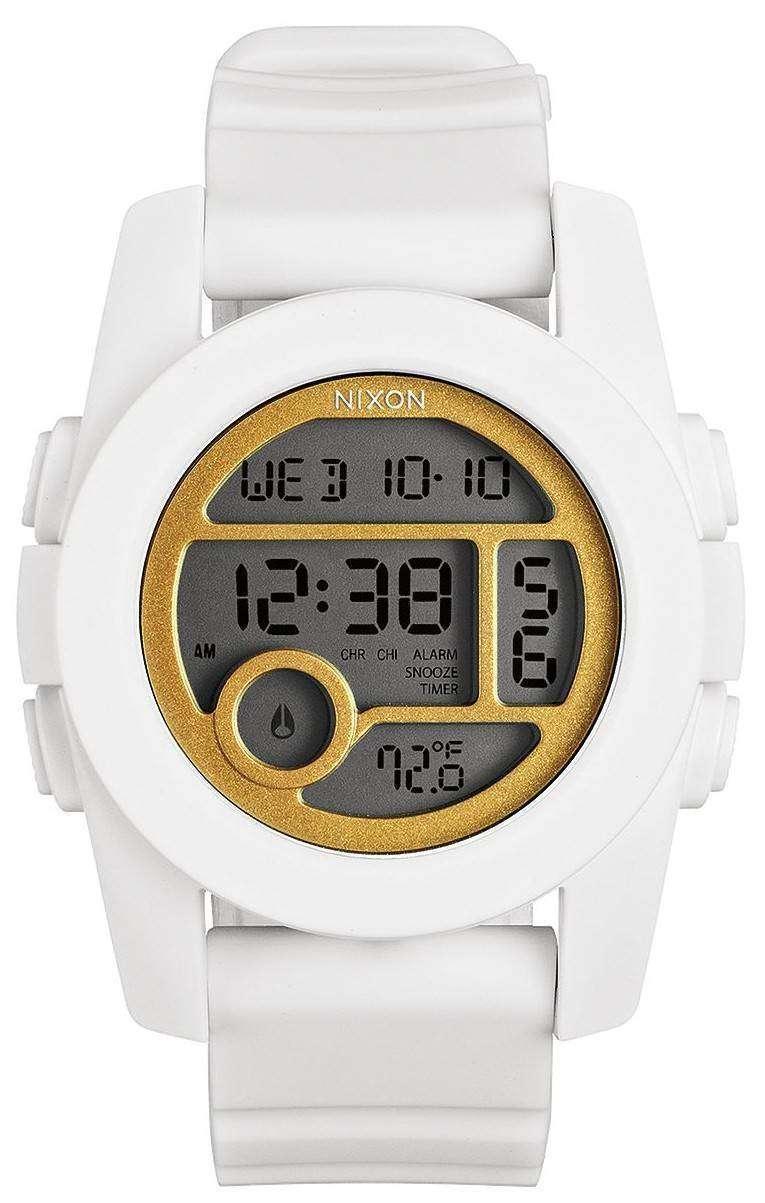 ニクソン ユニット 40 デュアル タイム アラーム デジタル A490-1035-00 レディース腕時計