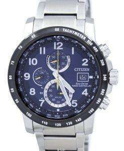 市民エコドライブ電波クロノグラフ AT8124-91 L メンズ腕時計