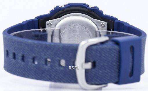 カシオベビー-G のデニムがアラームのデジタル 200 M BGD 560DE 2 レディース腕時計