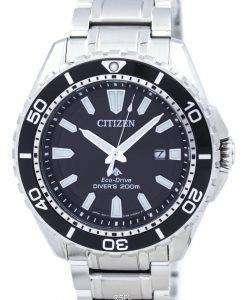 シチズン プロマスター エコ ・ ドライブ 200 M ダイバー BN0190 82E メンズ腕時計