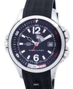 ハミルトン カーキ ネイビー GMT オートマティック H77555335 メンズ腕時計