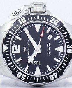 ハミルトン カーキ ネイビー フロッグマン自動 H77605135 メンズ腕時計