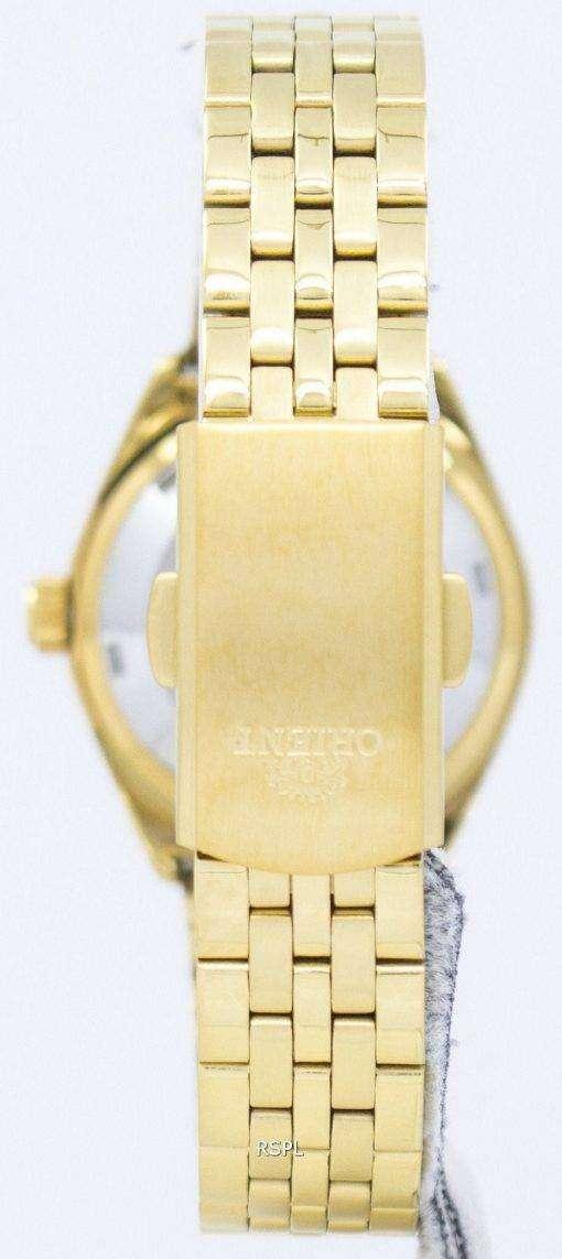 オリエント自動ダイヤモンド アクセント SNQ22001B8 レディース腕時計