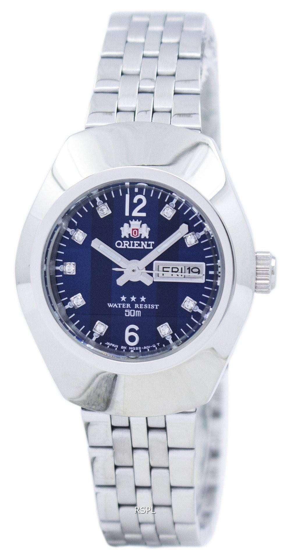 ダイヤモンド アクセント SNQ22004D8 レディース腕時計 orient 自動日本