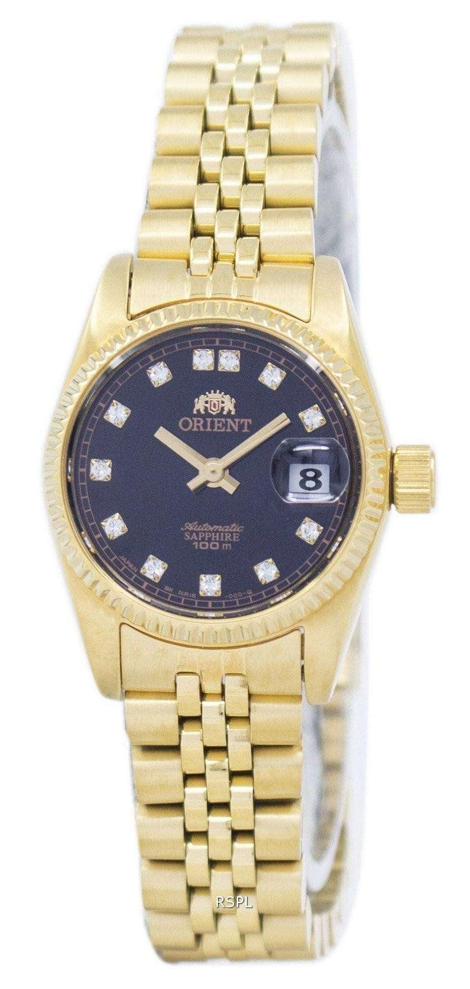 ダイヤモンド アクセント SNR16001B レディース腕時計 orient 自動日本