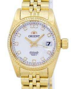 ダイヤモンド アクセント SNR16001W レディース腕時計 orient 自動日本