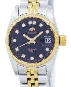ダイヤモンド アクセント SNR16002B レディース腕時計 orient 自動日本