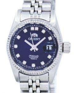 ダイヤモンド アクセント SNR16003D レディース腕時計 orient 自動日本