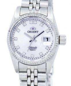 オリエント自動ダイヤモンド アクセント SNR16003W レディース腕時計