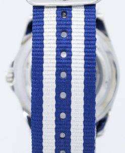 セイコー 5 スポーツ自動 23 宝石 NATO ストラップ SNZF17J1 NATO2 メンズ腕時計