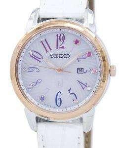 セイコー Lukia ソーラー限定版 SUT304 SUT304J1 SUT304J レディース腕時計
