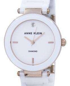 アン ・ クライン石英 1018RGWT レディース腕時計
