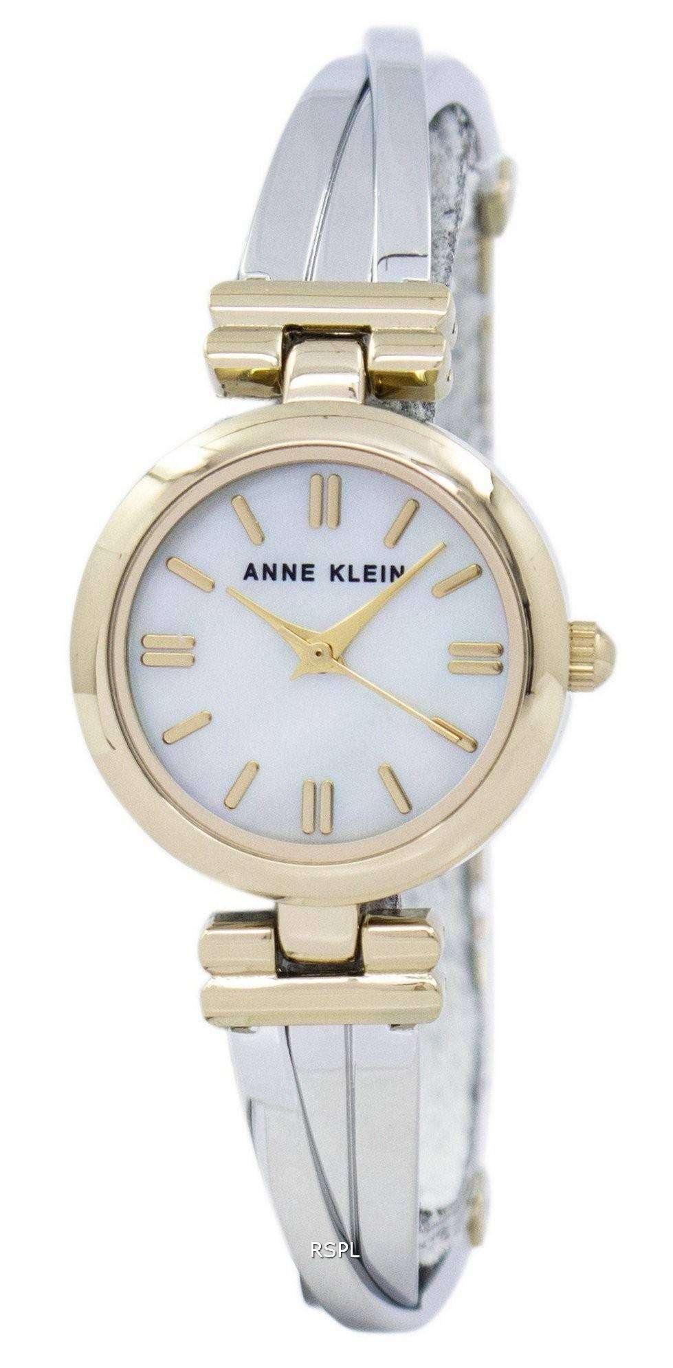 アン ・ クライン石英 1171MPTT レディース腕時計