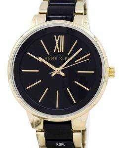 アン ・ クライン石英 1412BKGB レディース腕時計