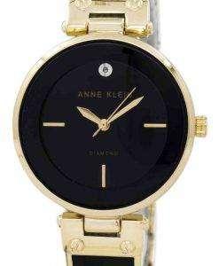 アン ・ クライン石英 1414BKGB レディース腕時計