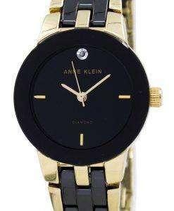 アン ・ クライン石英 1610BKGB レディース腕時計